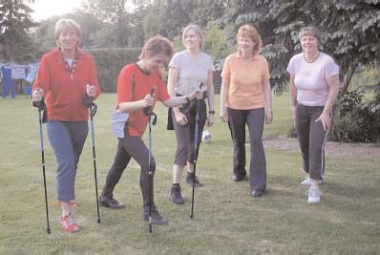 Nordic Walking im SW Enzen