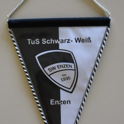 Wimpel TuS Schwarz-Weiß Enzen