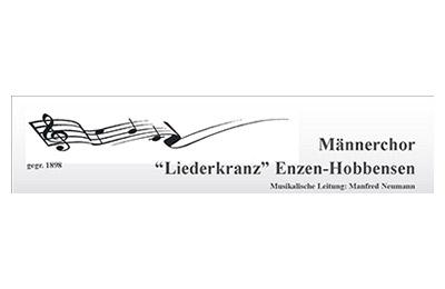 "Sponsor: Männerchor ,,Liederkranz"" Enzen-Hobbensen"