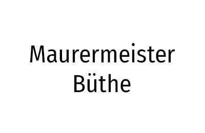 Maurermeister Büthe